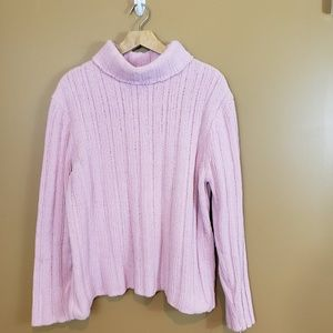 Pink extra soft sweater XL